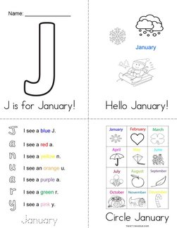 Hello January! Book