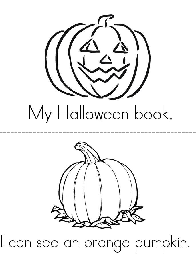 My halloween book - Twisty Noodle