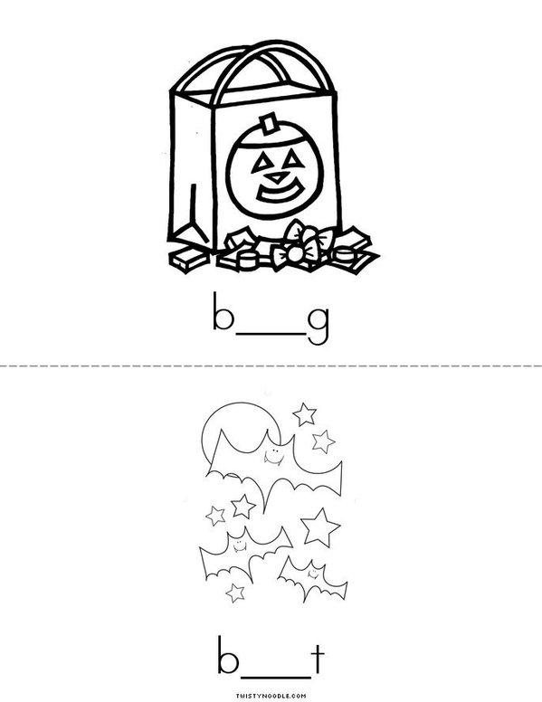 Middle A Mini Book - Sheet 4