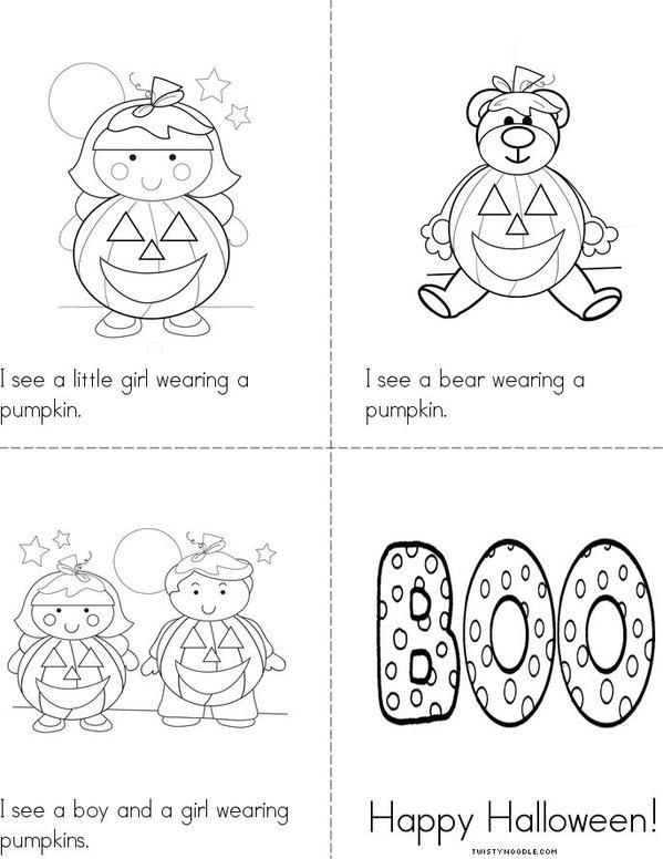 Laurenu0026#39;s Halloween Book By: Lauren - Twisty Noodle