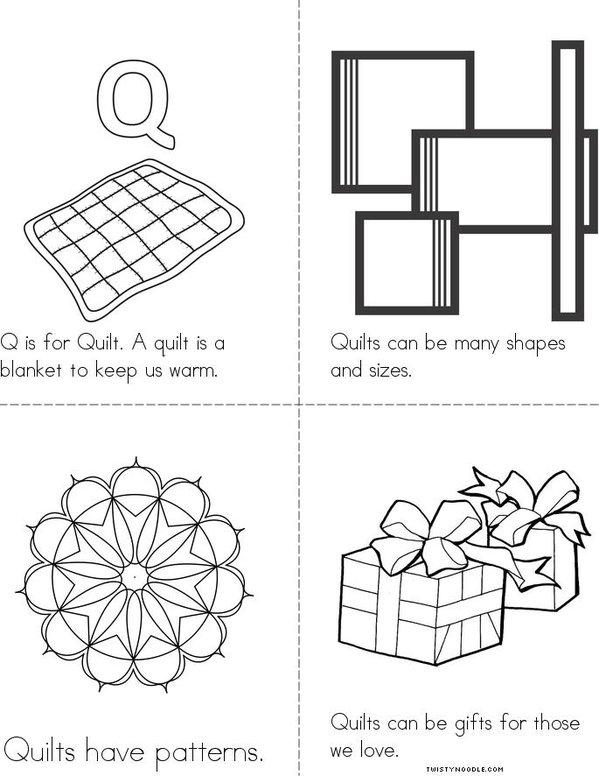 Quilts Mini Book