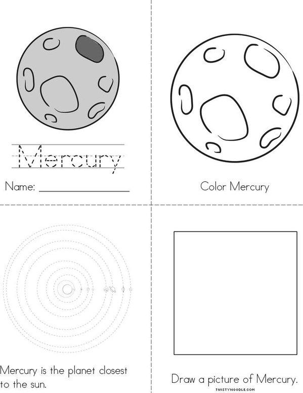 My Mercury Book Mini Book