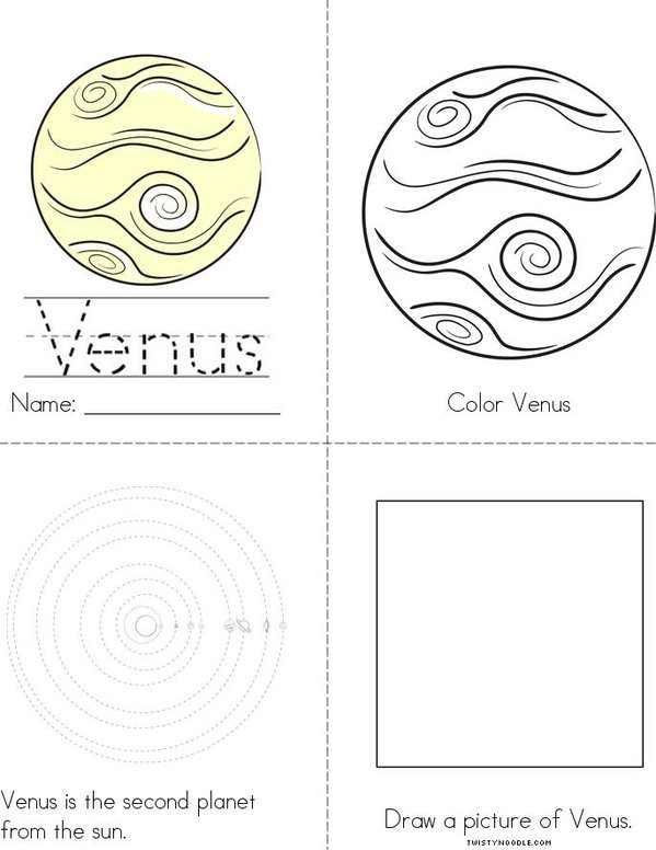 My Venus Book Mini Book
