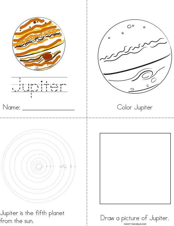 My Jupiter Book Mini Book