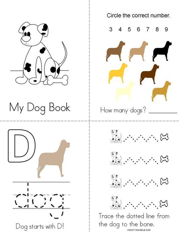 Dog Mini Book
