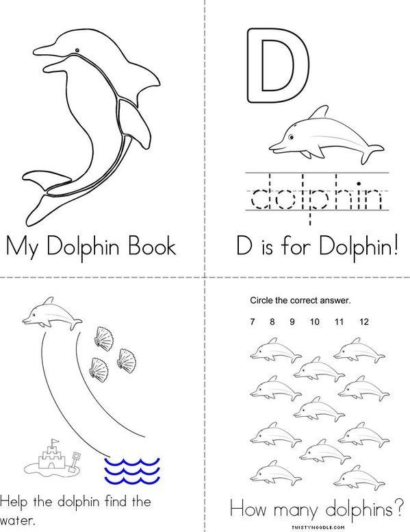 Dolphin Mini Book