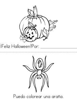 Feliz Halloween! Book