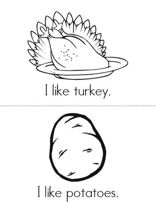I like Thanksgiving! Book
