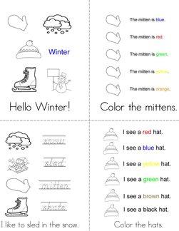 Hello Winter! Book
