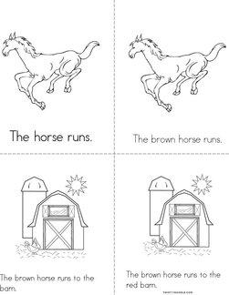 The Horse Runs Book