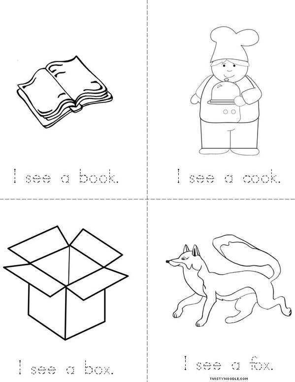 I See Mini Book