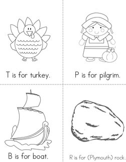 ABC's of Thanksgiving  Book