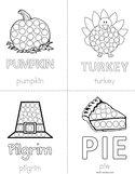 Thanksgiving Dot Book