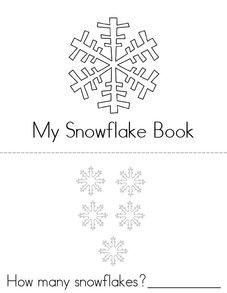 Snowflake Activity Book