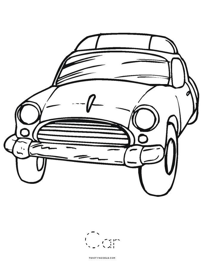 Transportation Book - Twisty Noodle