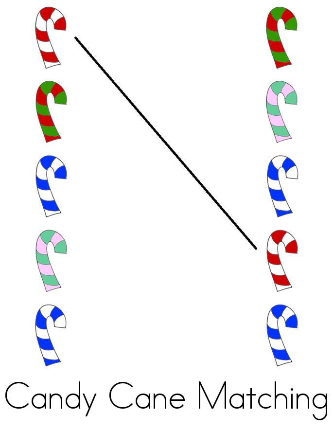 My Candy Cane Book - Twisty Noodle