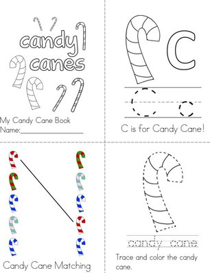 My Candy Cane Book