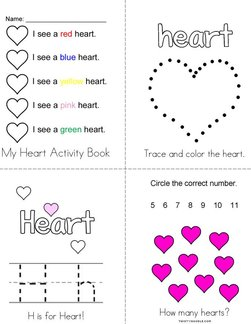 My Heart Activity Book
