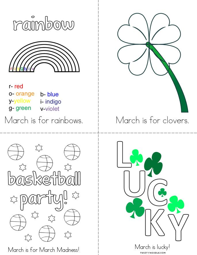 March is Book - Twisty Noodle