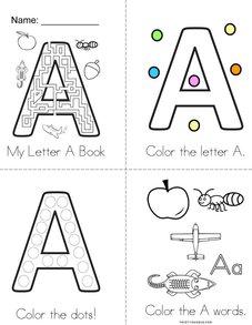 Letter A Fun! Book