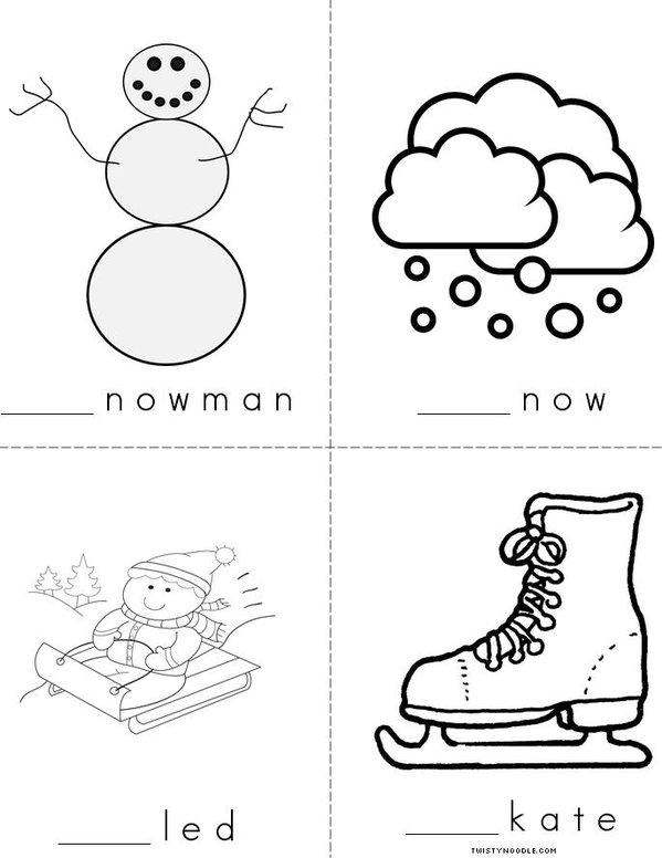My Winter S Mini Book