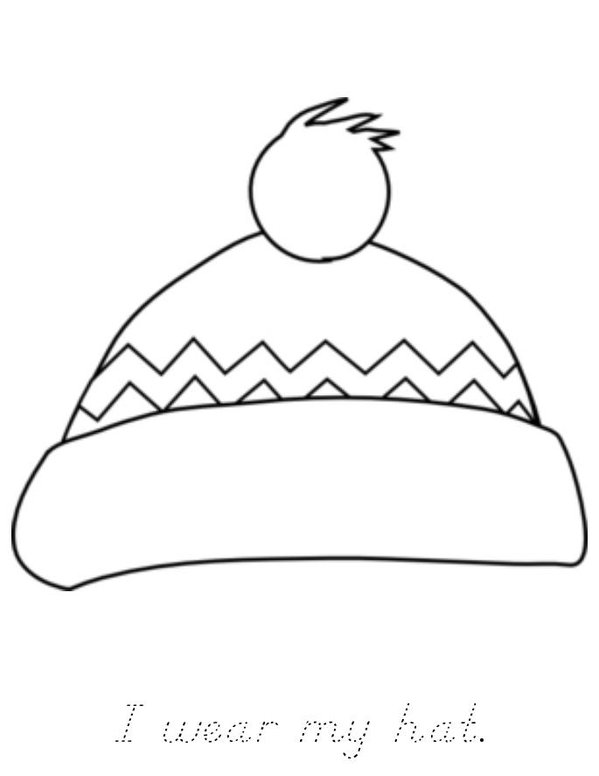 Winter Mini Book - Sheet 2