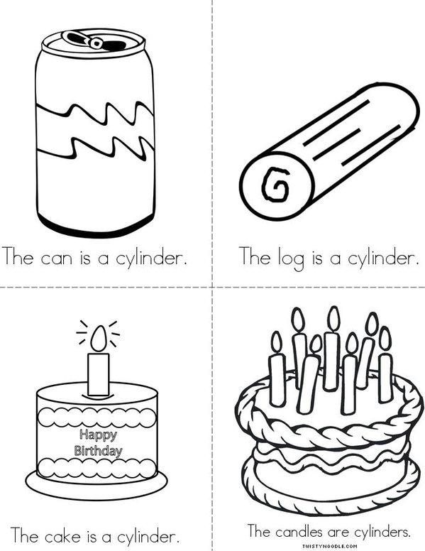 Cylinders Mini Book