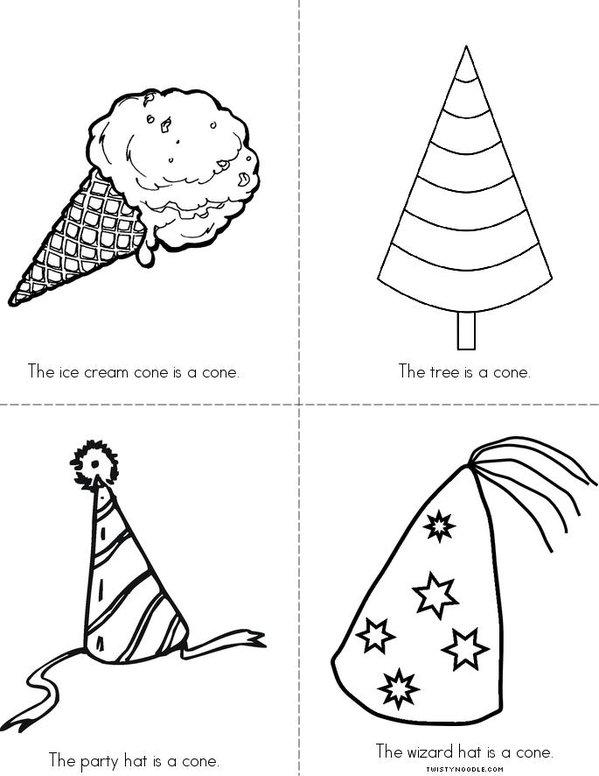 Cones Mini Book