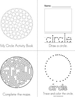 My Circle Activity Book