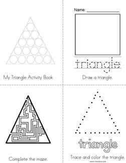 My Triangle Activity Book