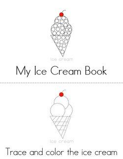 My Ice Cream Book