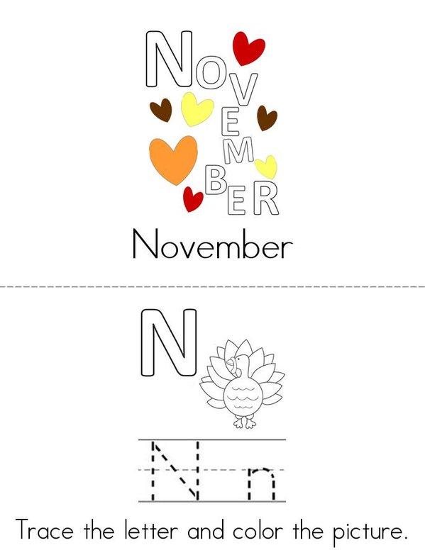 November Book - Twisty Noodle