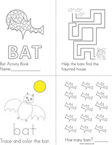 Bat Activity Book