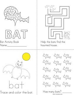 Bat Activity Book