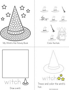 My Witch's Hat Activity Book