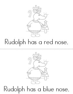 What Color is Rudolph's Nose? Book