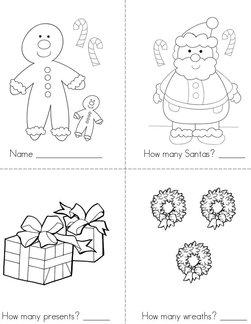 Christmas Counting Book