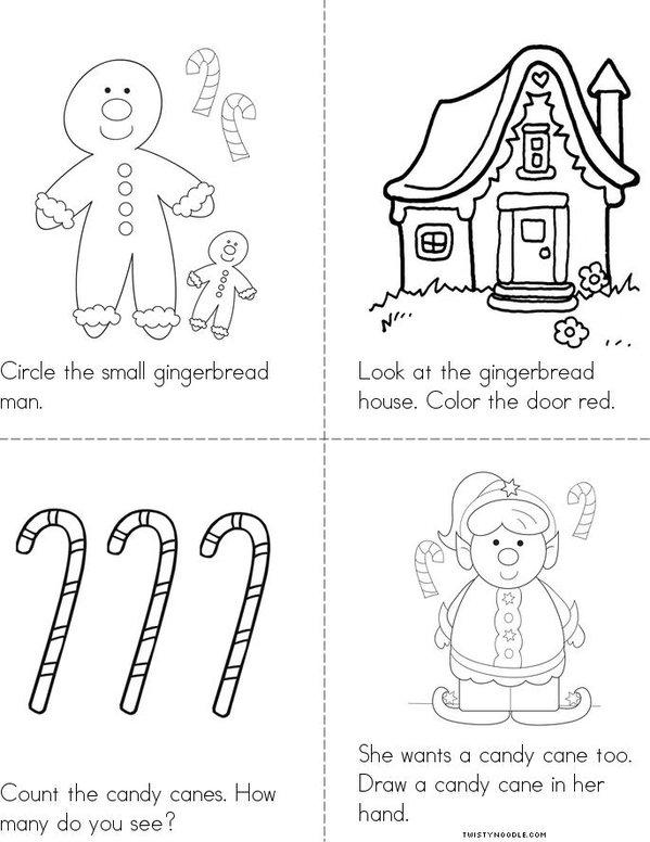 Gingerbread Fun  Mini Book