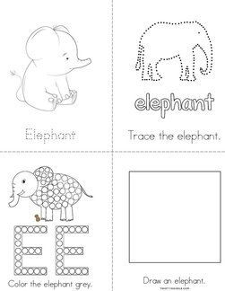 My Elephant Activity Book