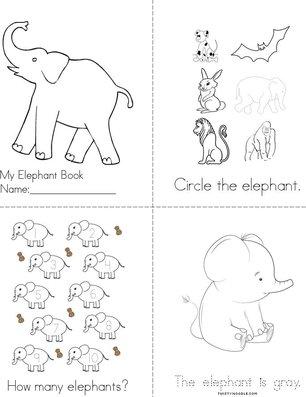 My Elephant Book