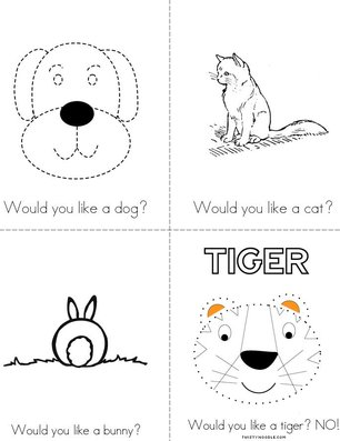 What pet would you like? Book