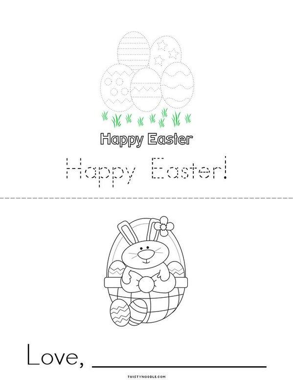 Easter Card Mini Book