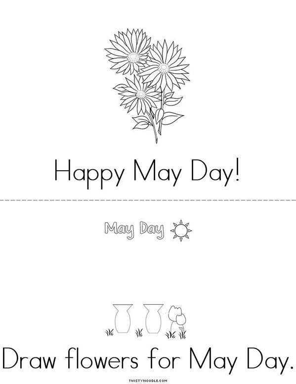 May Day Mini Book