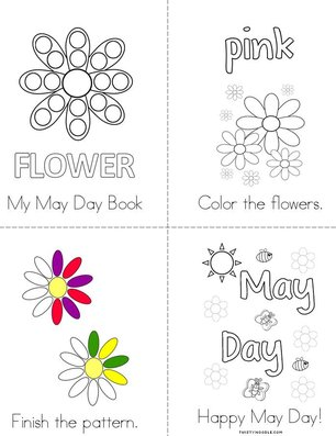 My May Day Activity Book
