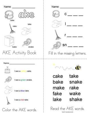 My AKE Activity Book
