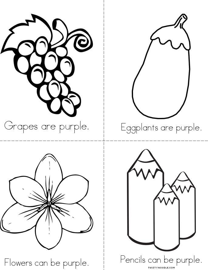 The Color Purple Book - Twisty Noodle