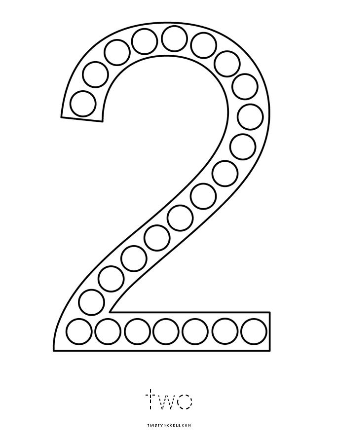 Number 2 Book - Twisty Noodle