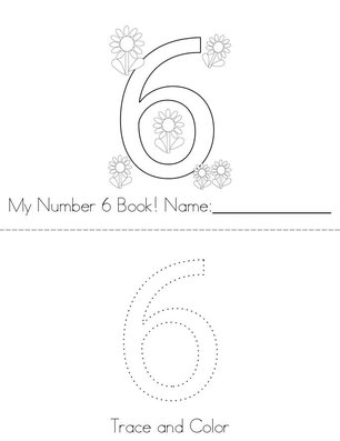 Hello Number 6! Book