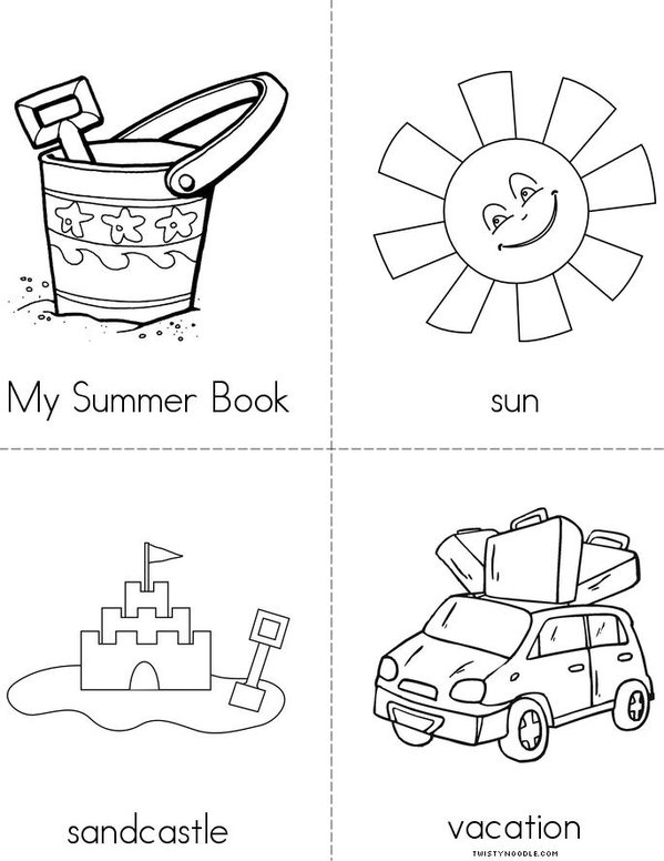 Summer Mini Book