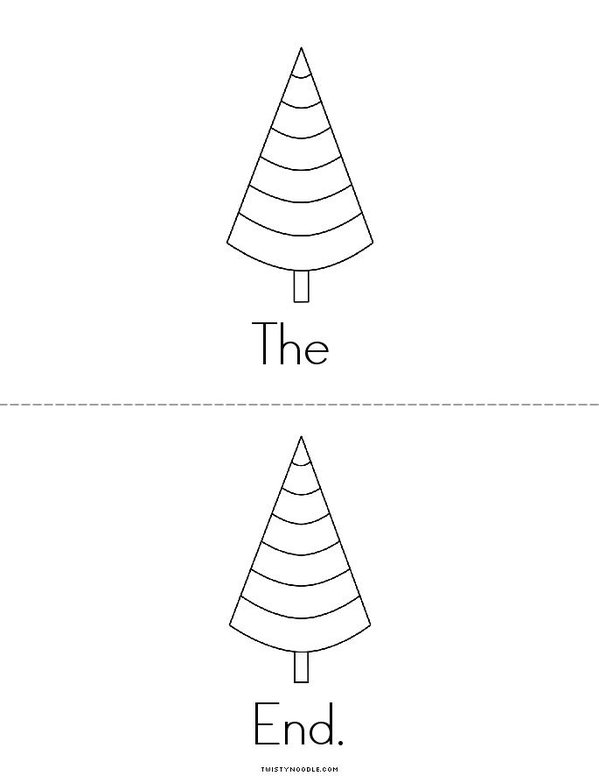 The Life Cycle of a Christmas Tree Mini Book - Sheet 5